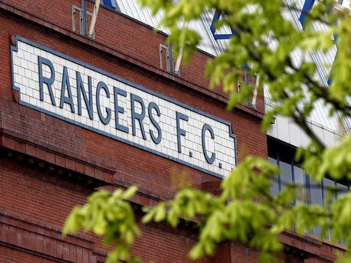 Rangers have been placed in the Third Division