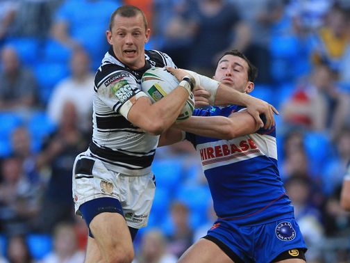 Richard Horne: Try scorer for Hull FC
