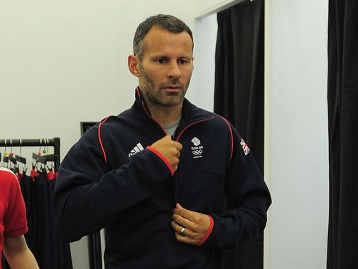 Ryan Giggs: Captain of the Great Britain Olympic team