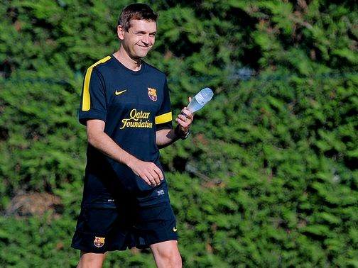 Vilanova: Has reportedly suffered a relapse after surgery last year