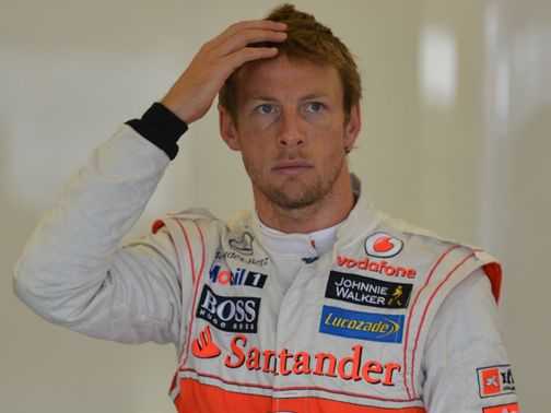 Button: Quickest in first practice
