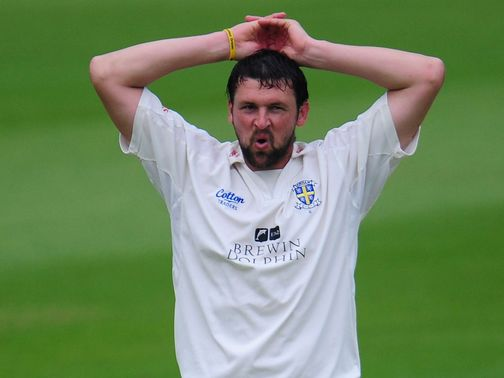 Harmison: Three wickets for Yorkshire
