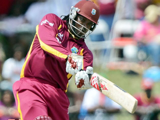 Chris Gayle: Typically swashbuckling innings