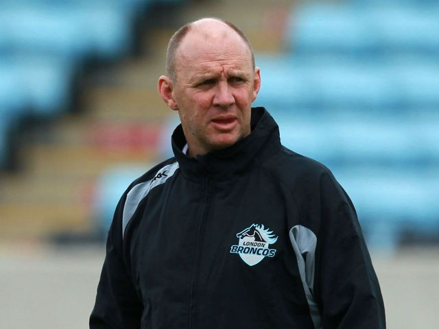 Tony Rea: signed a two-year contract with the London Broncos last year