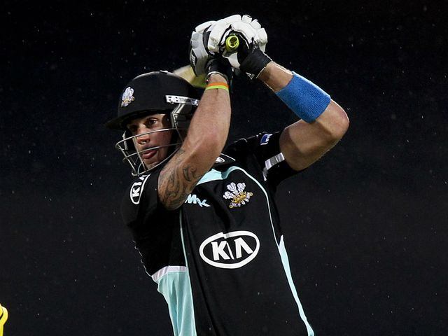 Kevin Pietersen: 36 from just 16 balls