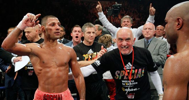 Kell Brook: final IBF eliminator with Hector Saldivia