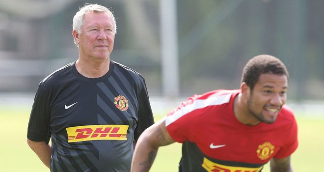 Bebe: Has been speaking about Sir Alex Ferguson