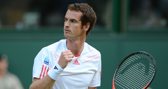 Andy Murray: Aiming to become the first British men's Wimbledon singles champion since 1936