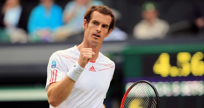 Andy Murray: Into first final at the All England Club