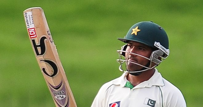Asad Shafiq: Half-century for Pakistan late in the day
