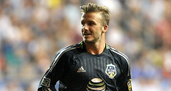 David Beckham: Denied he is planning a move to Australia
