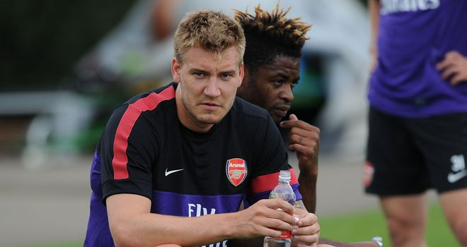 Nicklas Bendtner: Set to leave Arsenal