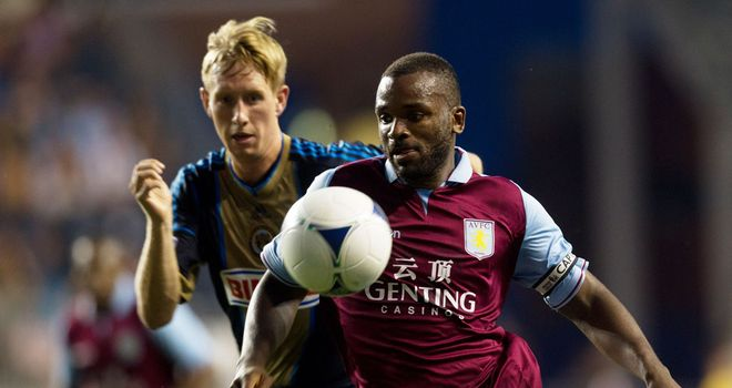 Darren Bent: Will skipper Aston Villa in the absence of Stiliyan Petrov