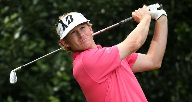 Brandt Snedeker: finished in a tie for third at The Open