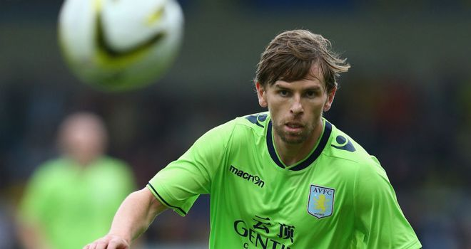 Brett Holman: Hoping to impress during Aston Villa's tour of the USA