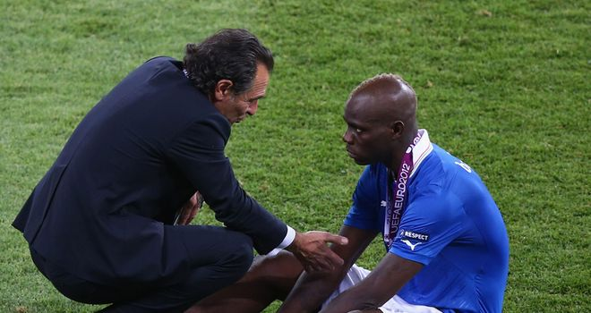 Cesare Prandelli: Was hurt by Mario Balotelli's decision to have eye surgery during the last international break