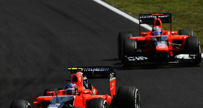 Marussia: Will have their lap times boosted by KERS next season