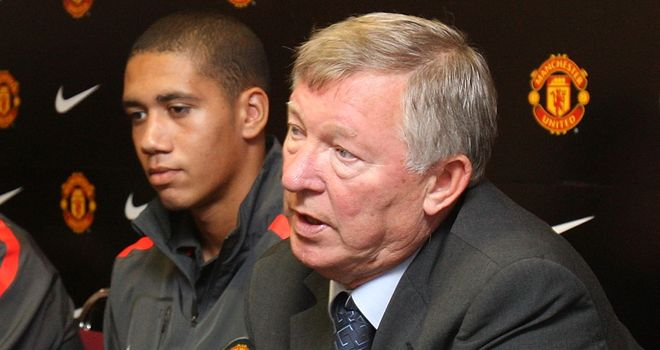 Sir Alex Ferguson expects Chris Smalling to return for Manchester United in the next three weeks