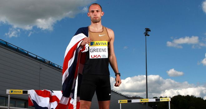 Dai Greene will lead Team GB's Olympic charge