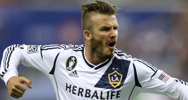 David Beckham: Los Angeles Galaxy midfielder has played down talk of a move to Monaco