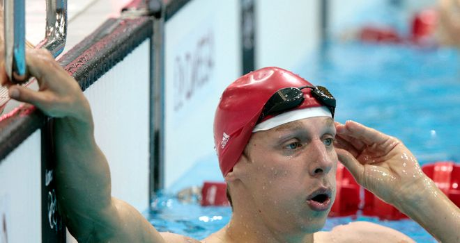 David Carry: Has announced his retirement from swimming