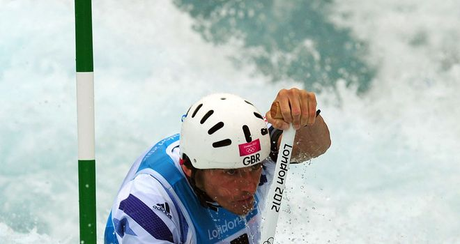 David Florence: Crashed out of canoe slalom C1 at the semi-finals