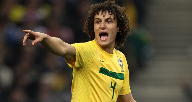David Luiz: One of three Chelsea players who could face England next month