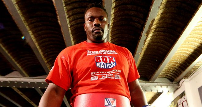 Dereck Chisora: Set comeback pending the return of his licence