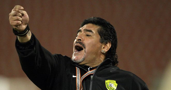 Diego Maradona: Has reportedly been approached by Iraq