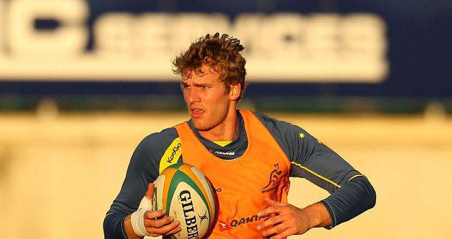 Dom Shipperley: Set to make his debut for Australia
