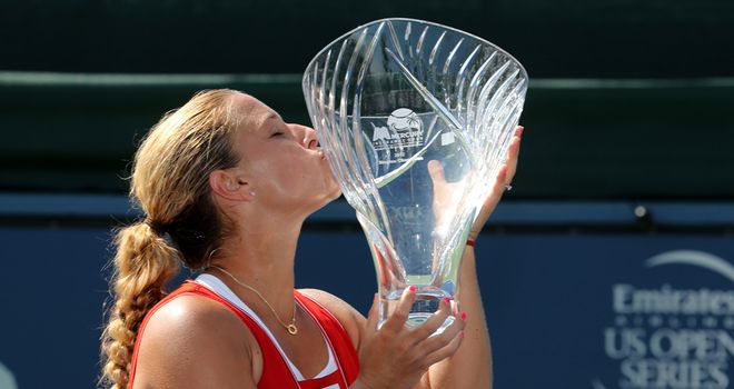Dominika Cibulkova: Won in straight sets
