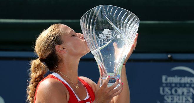 Dominika Cibulkova: Won in straight sets