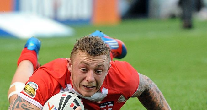 Charnley: top try scorer