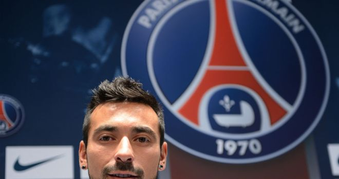 Ezequiel Lavezzi: Has penned a four-year contract with Paris St Germain