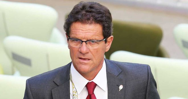 Fabio Capello: New manager of the Russia national side