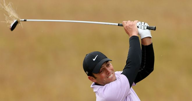 Francesco Molinari: took seven at the par four seventh