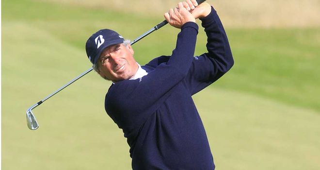 Fred Couples: the sixth player to win the Senior Open in his first appearance
