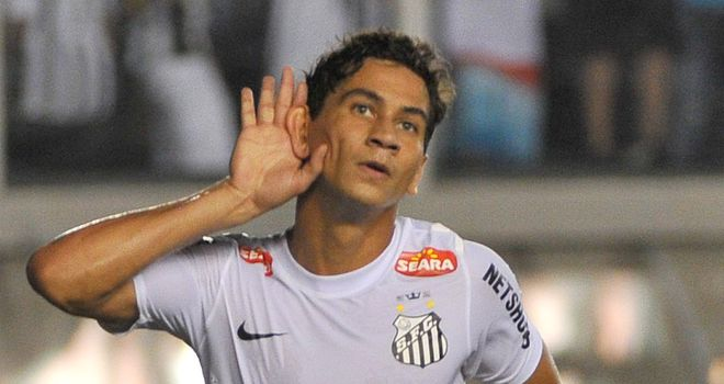 Ganso: Not happy at Santos