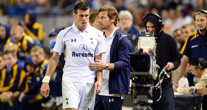 Gareth Bale: Made a controversial return from injury for Spurs against LA Galaxy