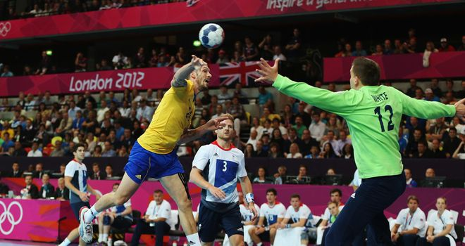 Sweden thrashed Team GB at the Copper Box