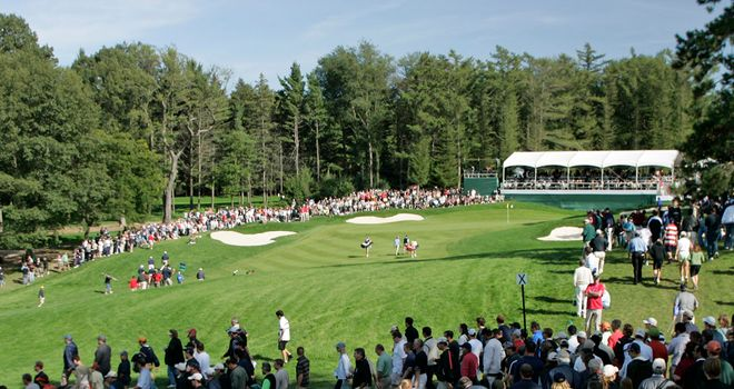 The 13th hole at Hamilton