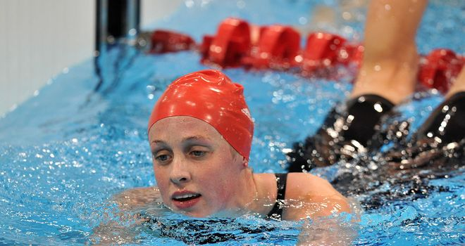 Hannah Miley: Won two silver medals in two days at European Short-Course Championships