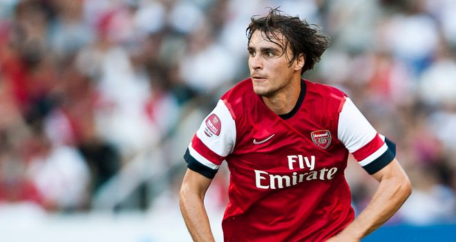 Ignasi Miquel: Arsenal defender has joined Leicester on loan