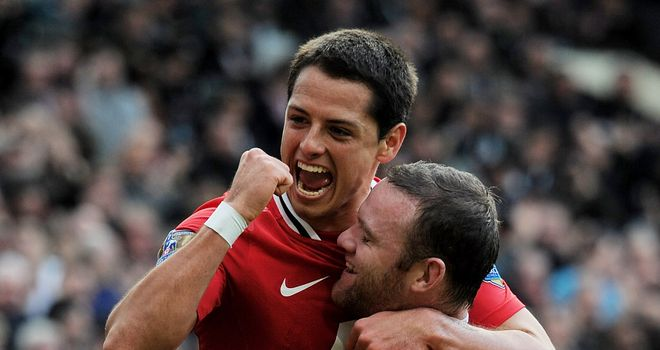 Javier Hernandez: The Manchester United striker hit 13 goals for club and country last season