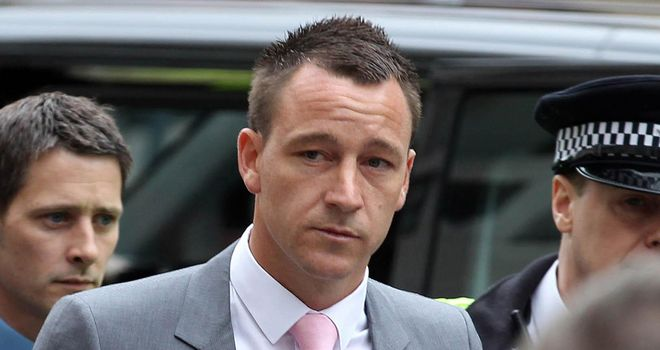 John Terry: Chelsea captain is accused of a racially aggravated public order offence