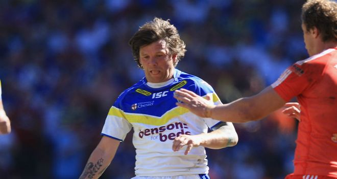 Lee Briers: A doubt to feature in Sunday's semi-final with an Achilles injury