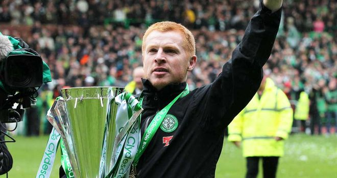 Neil Lennon: Set to face HJK Helsinki or KR Reykjavik in the Champions League