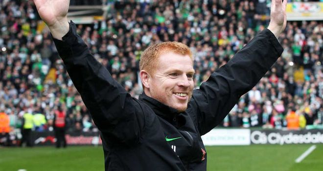 Neil Lennon: Celtic manager is feeling upbeat following the 2-1 win over HJK Helsinki