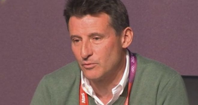 Lord Coe: Made Order of the Companions of Honour in investiture at Buckingham Palace
