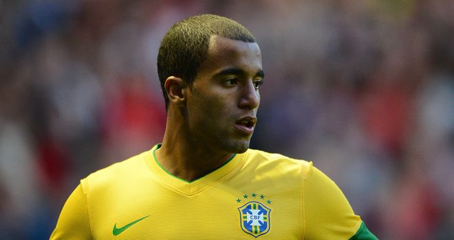Lucas Moura: In line for a new deal from Sao Paulo as they look to fend off interest from Man Utd